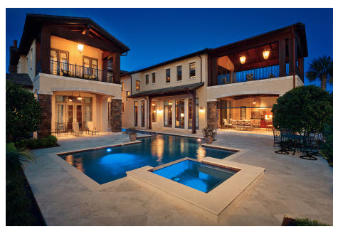 $4.2 Million Golf Club Estate In Orlando, FL