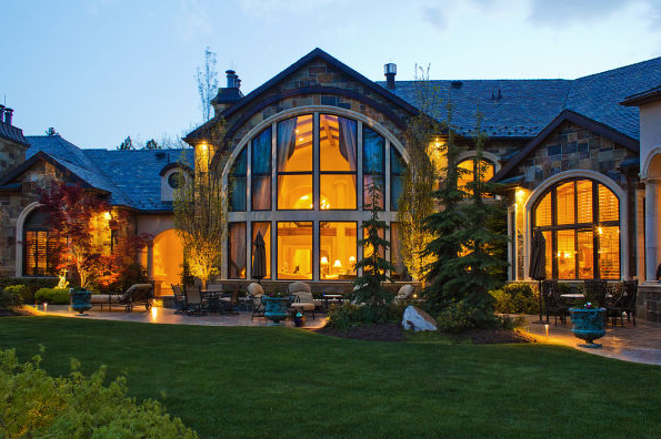 Gorgeous 25,000 Square Foot Gated Estate In Salt Lake City, UT
