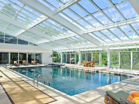 Upper Brookville, NY Estate With Indoor Pool And Raquetball Court