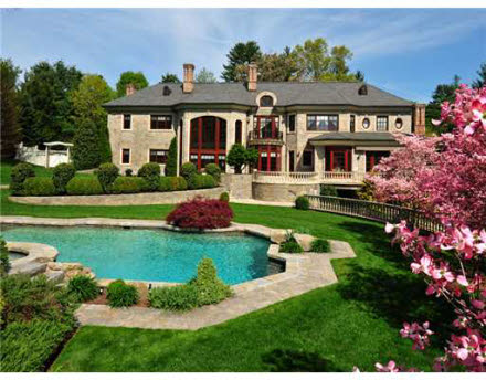 Newly Listed Normandy Style Estate In Greenwich, CT