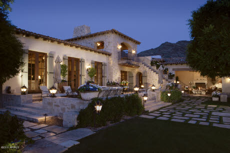 European Mediterranean Style Estate In Paradise Valley Az