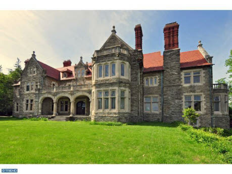 17 000 square foot old world hilltop stone mansion homes of the rich