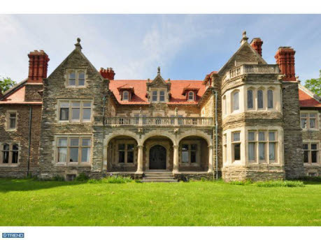 17 000 Square Foot Old World Hilltop Stone Mansion Homes