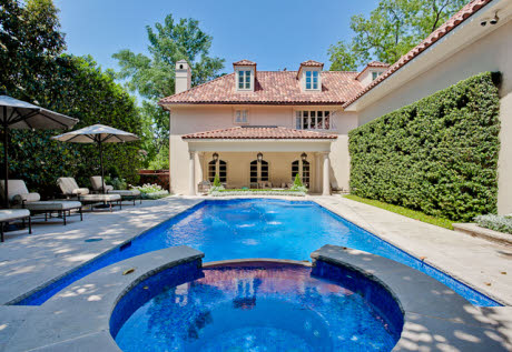 Newly Listed Mediterranean Villa In Highland Park, Texas