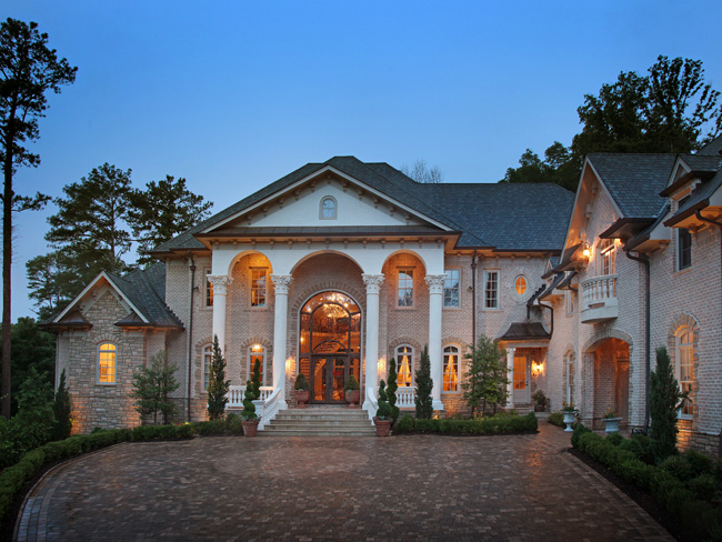European inspired buckhead estate homes of the rich for Dream homes in atlanta