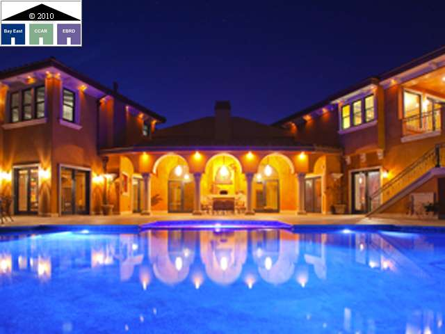 Newly Built 16,500 Square Foot Tuscan Villa In Blackhawk, CA