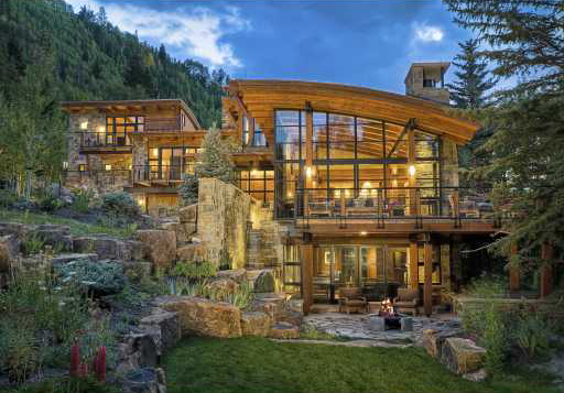 $10.9 Million Contemporary Residence In Vail, CO
