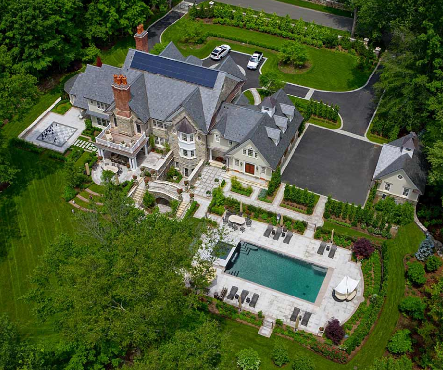 Greenwich Ct Luxury Mansions: Granoff Architects