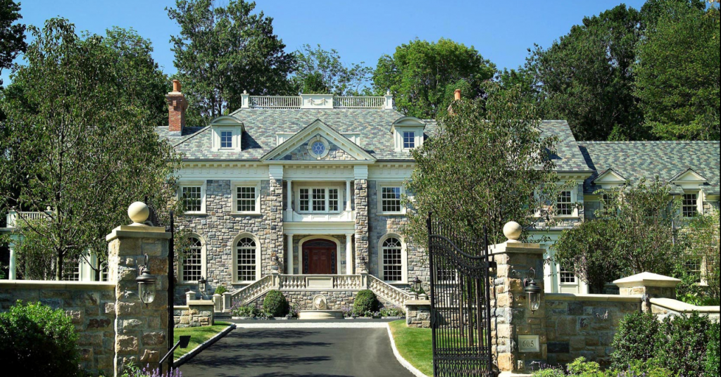 Granoff architects homes of the rich the 1 real for Connecticut home builders