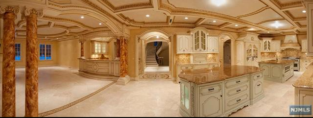 Luxury Mansion Kitchens: Elaborate 19,000 Square Foot New Construction In Saddle