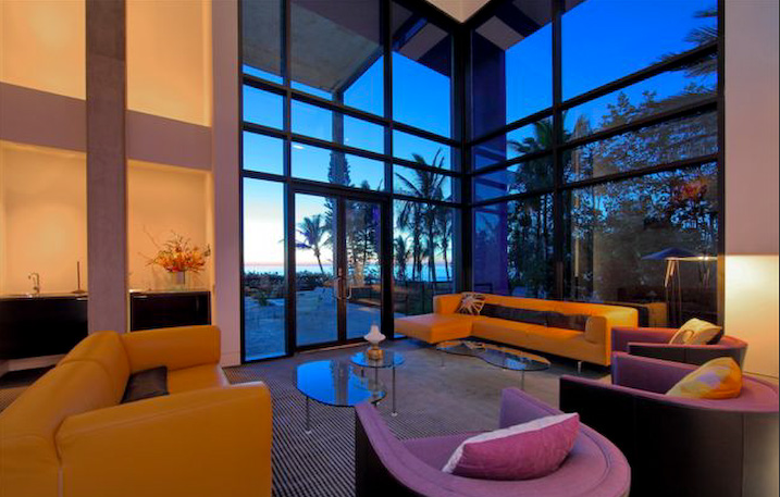 This Colorful Contemporary Style Beach House Is Located At 8250 Sanderling Road In Sarasota Fl It Was Built In 2000 And Boasts 7 642 Square Feet Of Living