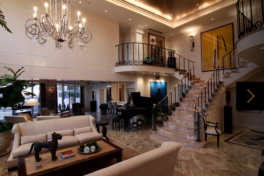 Lavish 3 Level Penthouse In Houston Tx Homes Of The Rich