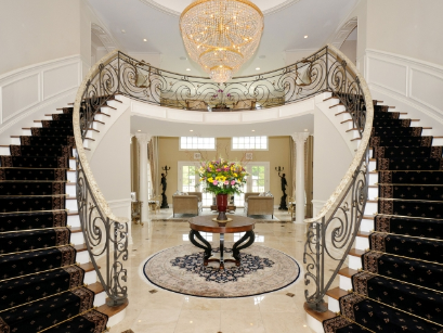 Beautiful Double Staircase In Ny