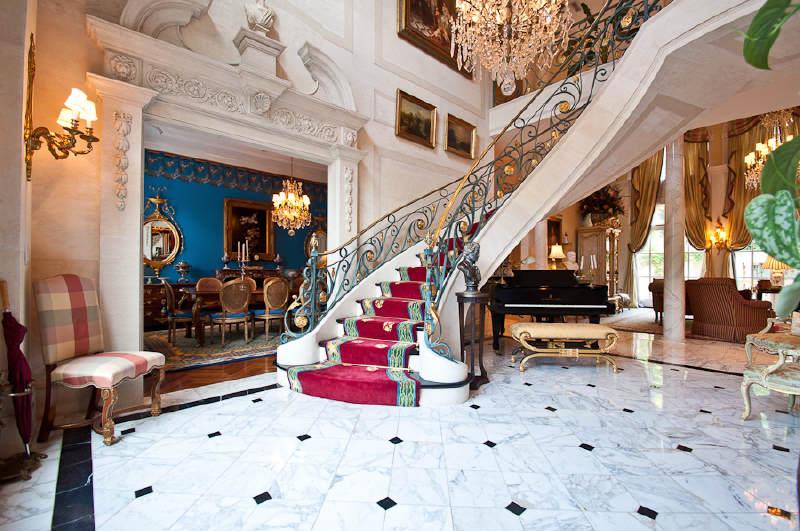Gated Mediterranean Estate In Atlanta Ga Homes Of The Rich