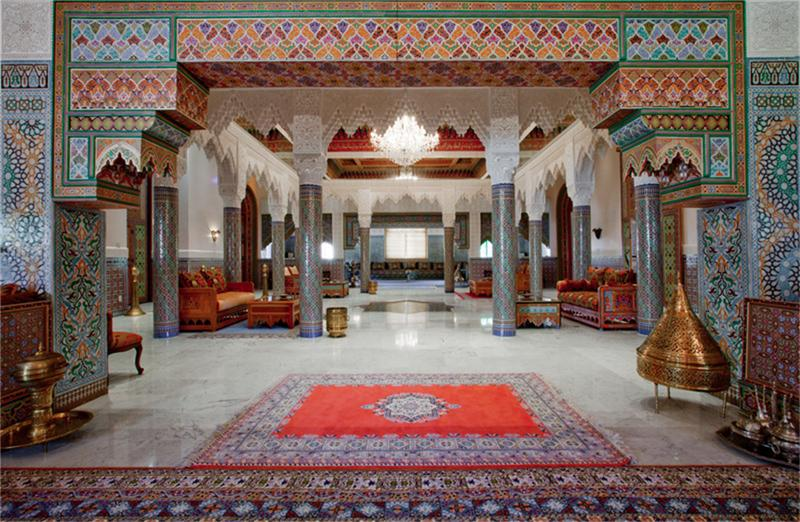 jaw dropping moroccan style estate in houston, tx | homes of the rich