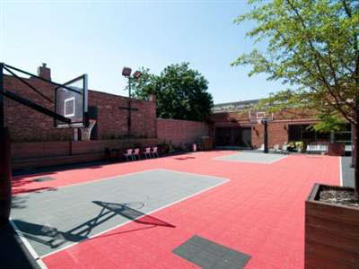 Chicago Home With Indoor Pool And Rooftop Basketball Court