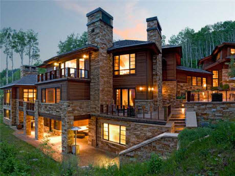 18 000 square foot estate in park city ut homes of the rich for Modern day houses