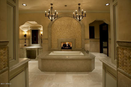 Newly Built Spanish Hacienda In Scottsdale Az Homes Of The Rich