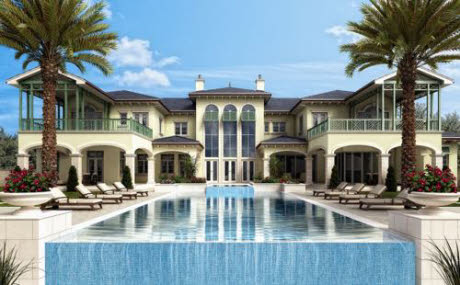 Barbados Style Oceanfront Estate In Vero Beach Fl Homes