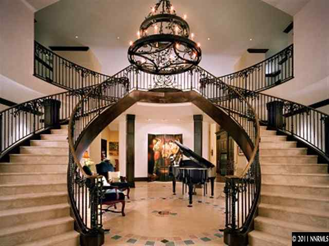 Beautiful Double Staircase In Nevada