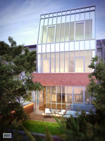 East 80th Street –  A $35 Million Modern Townhouse