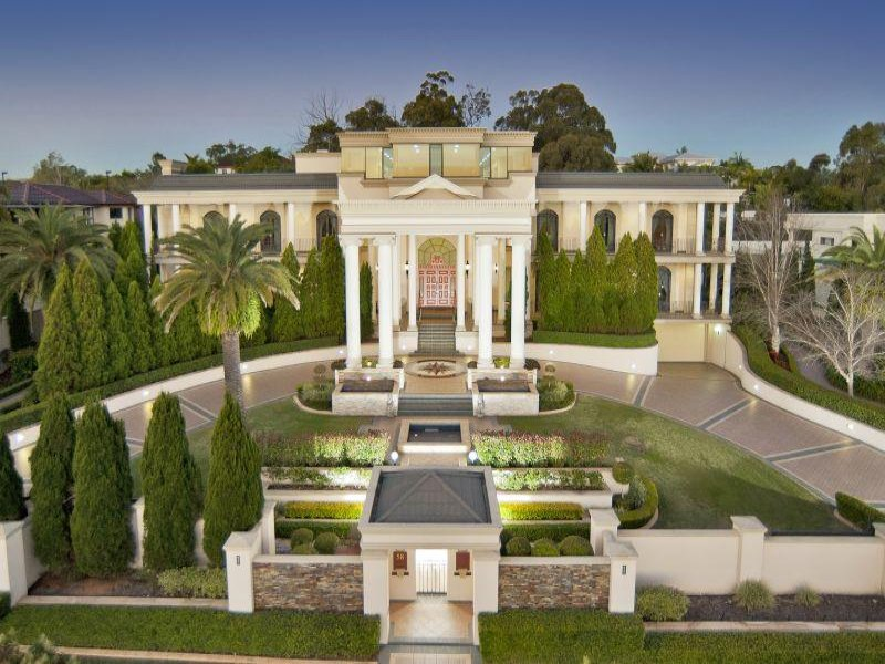 newly listed 25 000 square foot mega mansion in queensland australia homes of the rich