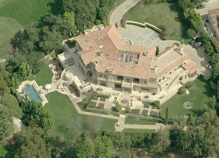 $28.5 Million Villa In Bel Air, CA