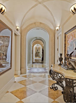 Italianate Inspired Lakefront Mansion In Naples, FL