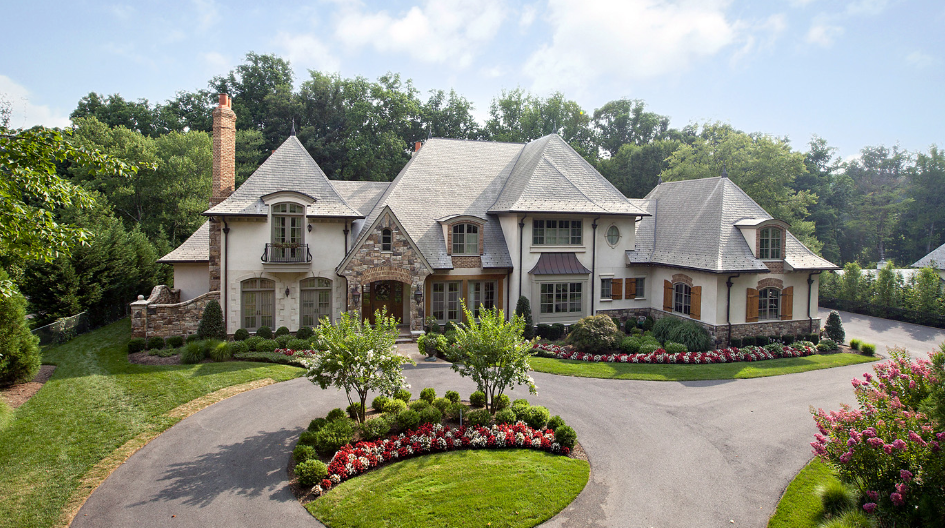 14 000 square foot french country mansion in bethesda md for French country style homes for sale