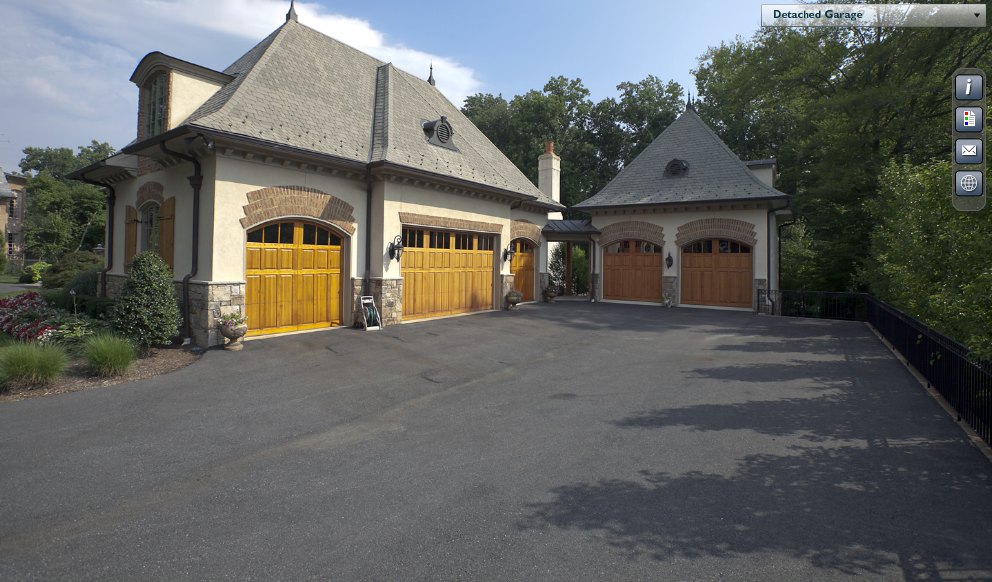 14,000 Square Foot French Country Mansion In Bethesda, MD
