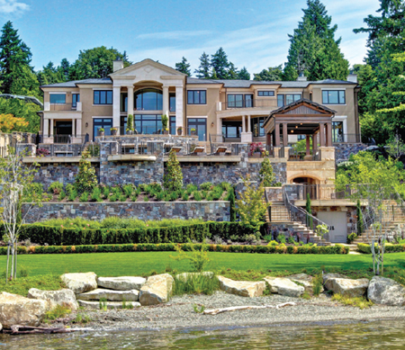 $28 Million Mercer Island Waterfront Mansion To Be Auctioned Off