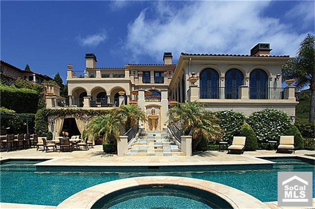 $10.7 Million Mediterranean In Newport Coast, CA