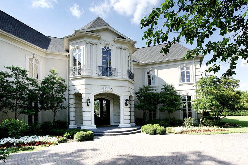 Stone stucco french chateau in sugar land tx homes of for French style homes for sale