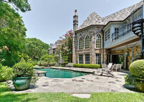 Newly Listed European Castle On A Heavily Wooded 2 Acres In Fairview, TX