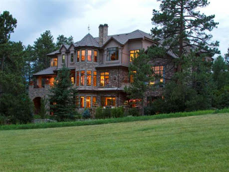 English Country Manor Home In Castle Rock, CO