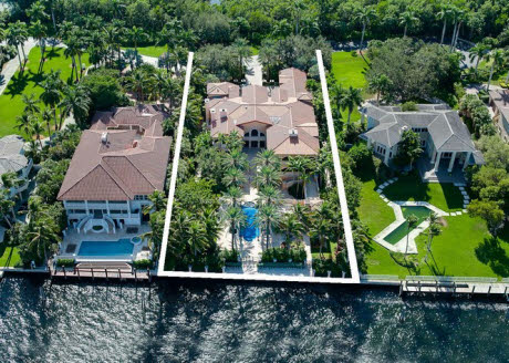 $18 Million Waterfront Mediterranean In Coral Gables, FL