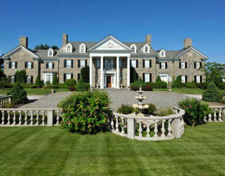 Newly Listed 13 75 Million Georgian Colonial In Greenwich