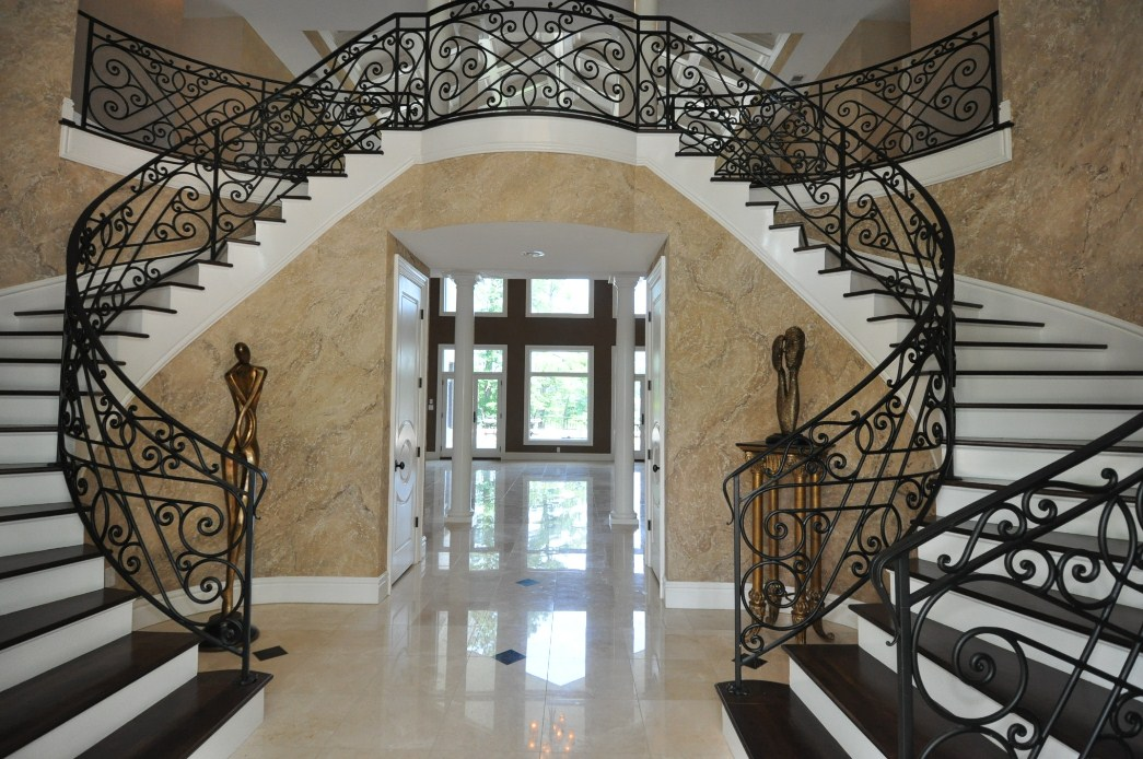 Virginia Beach Mansion Luxury Stairs Gallery