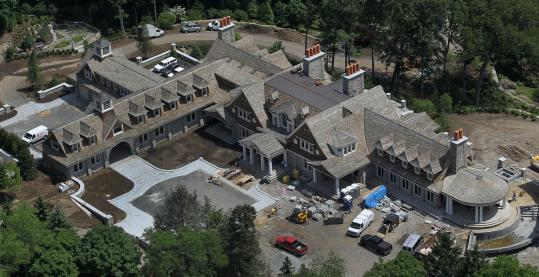 John Henry's 35,000+ Square Foot Massachusetts Mega Mansion