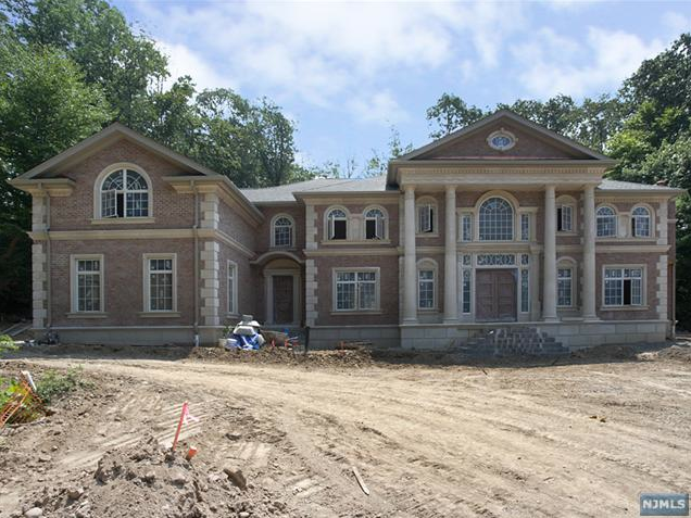 12 000 square foot new build in alpine nj homes of the rich for Building a house in nj