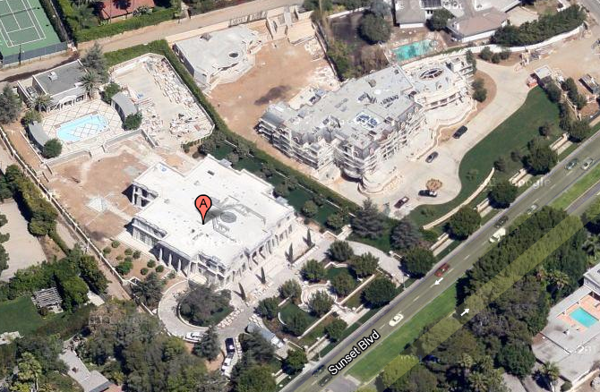$39 Million Newly Constructed Mega Mansion In Beverly Hills, CA