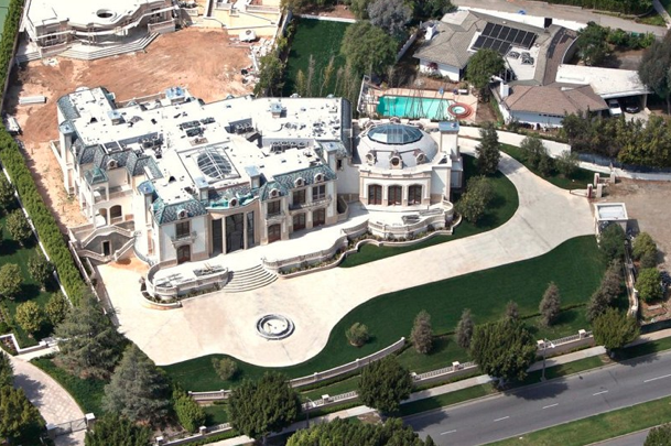 39 Million Newly Constructed Mega Mansion In Beverly