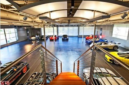 $44.5 Million Malibu Estate With 7,000 Square Foot Auto Museum