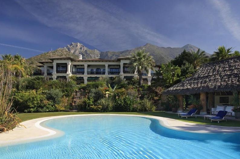 Luxury Villa In Sierra Blanca, Marbella