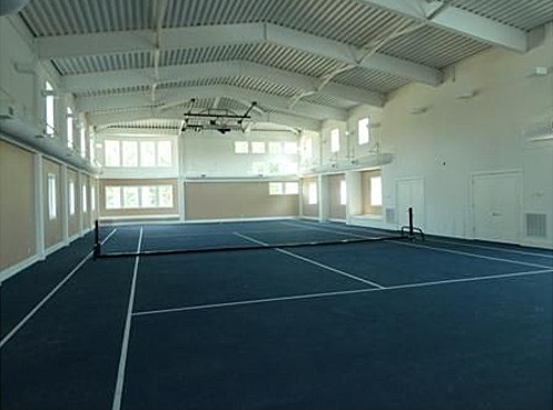 Virginia Beach Waterfront Mansion With Indoor Tennis Court