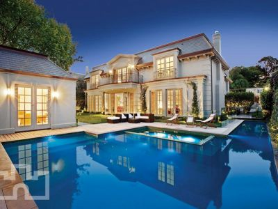 Elegant Mansion In Melbourne Homes Of The Rich