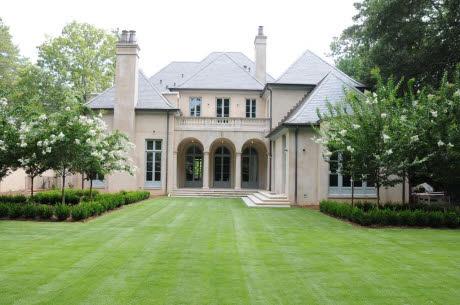French Chateau Inspired New Build In Atlanta, GA