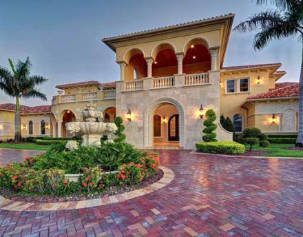15 000 square foot mediterranean in parkland fl homes for House plans 15000 square feet