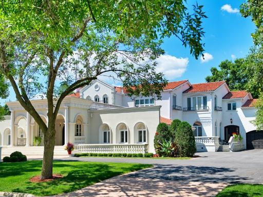 13 000 Square Foot Mediterranean Mansion In Oak Brook IL Homes Of The Rich