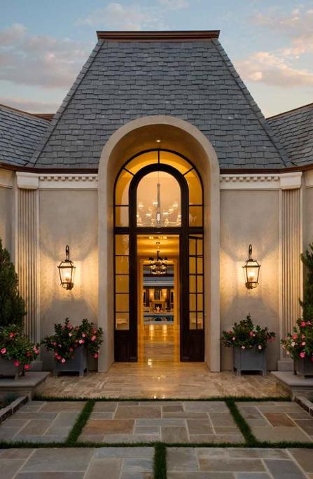 Masterpiece Patio Doors Reviews: Elegant Architectural Masterpiece In Santa Barbara, CA